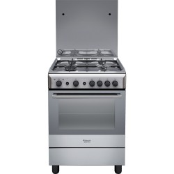 Cucina Forno GAS Hotpoint H6GG1F(X)IT - Bianca - 60x60
