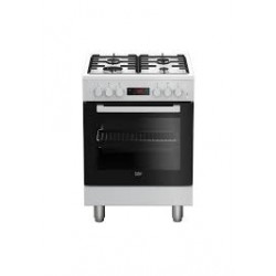 Cucina A Gas Beko FSE62110DWF Bianca