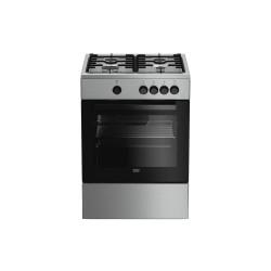 Cucina Piano cottura Acciaio inossidabile Gas Beko FSG62000DX