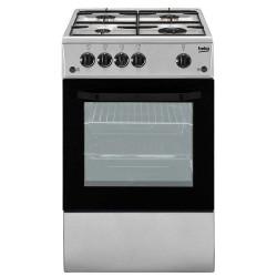 Cucina Beko CSG42011FS - 50X50 - Silver - Forno a Gas
