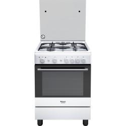 Cucina Forno GAS Hotpoint H6GG1F(W)IT - Bianca - 60x60